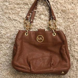 Brown Michael Kors shoulder bag